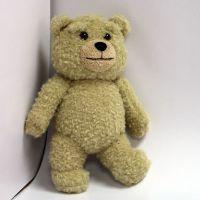 公仔动漫公仔关节泰迪熊毛绒玩具可来图设计定制