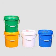 山东5升透明豆腐乳塑料桶5kg芝麻酱塑料桶 山东塑料桶批发全新PP塑料桶