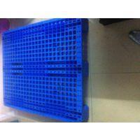 川字型塑料托盘 网格塑料卡板 二手塑料地脚板
