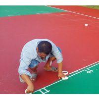 康腾东莞室外篮球场地面做法硅pu 丙烯酸羽毛球场地垫施工图