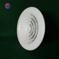 批发 圆形塑料风口ABS可调新风送风口 塑料风口 ABS风口 汇东特供