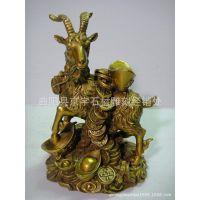 厂家低价供应铜雕羊 铜雕十二生肖羊 山羊 绵羊 铜钱羊雕塑摆件