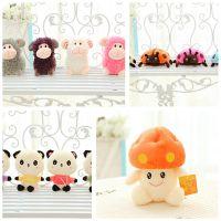 婚庆活动小礼品 小挂件 创意毛绒挂件 毛绒玩具抓机娃娃可爱兔子