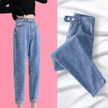 库存杂款的牛仔裤批发尾货韩版小脚牛仔裤便宜批发