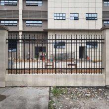热镀锌钢管防护栏杆 园林铁艺栅栏规格 广州边框护栏价钱 钢材