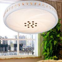 高档K9LED水晶吸顶灯客厅灯现代简约卧室阳台灯具餐厅灯饰具