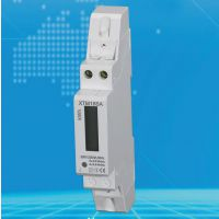 导轨式安装单相电子式电能表 1P DIN