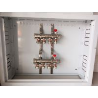 一体锻压成型 小体工程用地暖分水器