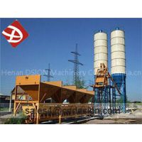 Mobile concrete batching plant winter type
