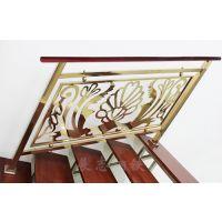 云南欧式楼梯扶手护栏 优质铝合金阳台栏杆扶手