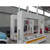 大成牌木门板材用压合机 DC型工厂双杠液压型冷压机
