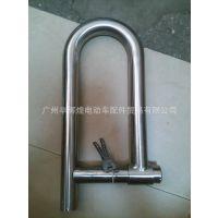 现货销售 不锈钢大水管锁 电瓶车锁三轮车锁