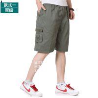 广州低价便宜夏季男装马裤休闲裤七分裤男士运动裤