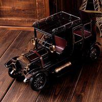 zakka杂货 手工做旧老爷车 铁皮玩具 怀旧摆件 支持混批 A37-L04