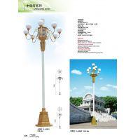 直销铁制品艺术景观灯非标15米玉兰灯 中山创赢照明厂