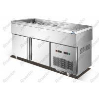 供应茗记甜品设备/1.8米不锈钢汤池/鲜芋仙甜品保鲜柜/汤池价格