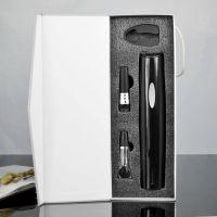 百诣厂家直销 新款红酒电动开瓶器套装 红酒酒具礼品定制