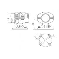 固牌 MGG2型 固定金具 MGG2-150永固集团股份有限公司