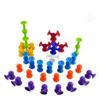 硅胶吸吸乐 硅胶儿童玩具 益智硅胶积木玩具吸扭乐