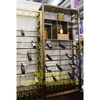 欧式红酒储存酒柜定制|恒温恒湿红酒柜|广州红古铜特色设计酒架|工艺304不锈钢欧式挂墙红酒杯架|