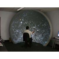 立式飞行穹幕影院系统_科普教育展示半球球幕影院