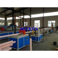 pvc供水管、德尔玛塑机(图)、pvc供水管生产设备