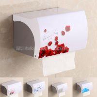 酒店用品一次坐厕纸架 塑料不锈钢创意卫生间纸巾盒抽纸盒卷纸器