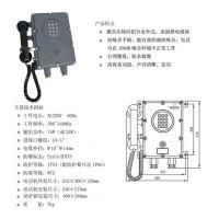 思普特 AKD型扩音呼叫防爆自动电话机 型号:ZYTX29-AKD-1A