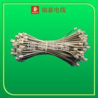 厂家供应 PH双头电子线 12cm裸铜线电子线 长度可定做