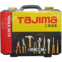TAJIMA 田岛工具 TZF-21 21件基本维修工具套装 家用组套 正品