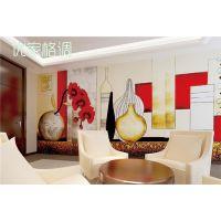 大型卡通时尚风情 温馨壁画无缝墙布  郑州批发商供应 高质量防潮