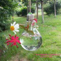 YiPan 创意灯泡形多肉种植花瓶 餐厅吊顶创意挂件