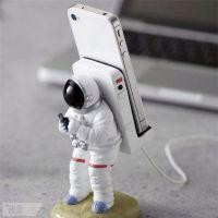 宇航员手机支架 创意懒人手机支架 通用手机充电座 手机展示架