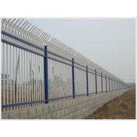 九正供应济宁锌钢喷塑护栏静电喷涂围墙护栏