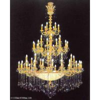 中元之光推荐欧式水晶吊灯 精美时尚水晶蜡烛灯 非标定制水晶灯销售