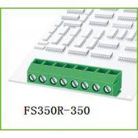 FS350R-3.5/3.96绿色弯针螺钉式接线端子台