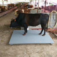 供应围栏地磅、周口5T猪笼电子秤厂家、莘锐牲畜磅维修按装价格