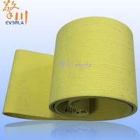 擎川everlar直销凯夫拉线纤维材质耐高温480度毛毡输送带 铝型材挤压生产专用