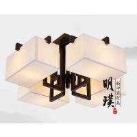 中山现代中式吸顶灯 生产厂家酒店吸顶灯批发 新中式吸顶灯厂家