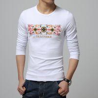 批发2015春秋款男士T恤衫 圆领长袖T恤打底衫J50XV000502300