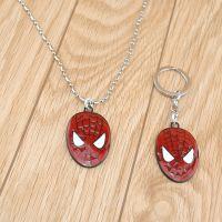 猎派蜘蛛侠钥匙扣 动漫卡通Spider Man钥匙挂件 蜘蛛侠汽车钥匙扣
