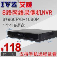 8路NVR网络硬盘录像机厂家低价促销