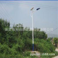 厂家直销 单臂热镀锌路灯 太阳能LED5米路灯厂家 节能环保路灯