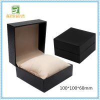 深圳手表盒包装 新款黑色翻盖纸盒 新款直销定制手表盒 高档纸盒