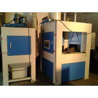 中山自动转盘式喷砂机价格,自动全自动圆盘工件表面打砂机设备