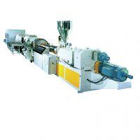 一出二PE管材生产线 Φ16-Φ800PVC管材挤出生产线 塑料生产设备 给水管生产线 PVC管价格