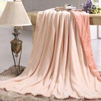 热销金丝莉 1.8m海迭香棉绒毯 定制批发团购