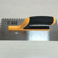尼瓦乐齿形刮板 瓷砖胶专用齿形铁板 齿形刮刀 带齿刮板 方齿镘刀