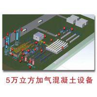 宏发砖机 5万立方加气混凝土生产线 值得信赖的工程