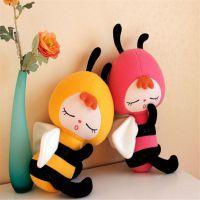 可爱填充毛绒玩具蜜蜂儿童节日礼品来图打样设计定制长期批发